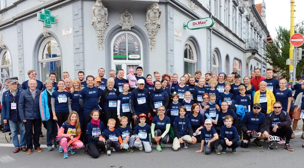Kosice marathon runners